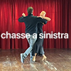 chasse a sinistra